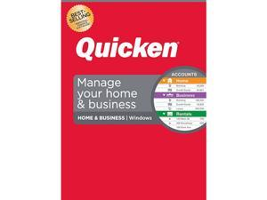 Quicken Home & Business Personal Finance - 1-Year Subscription (Windows)