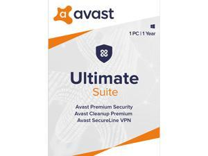 Avast Ultimate Suite [Security, Cleanup and VPN] 2020, 1 PC 1 Year [Key Card]