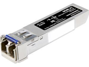 CISCO MGBSX1 1000BASE-SX Mini-GBIC SFP Transceiver, for Multimode Fiber