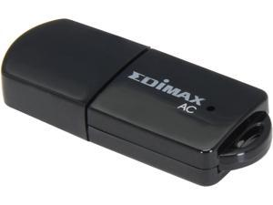 EDIMAX EW-7811UTC AC600 Dual-band USB 2.0 Wireless Mini Adapter, ideally for upgrading Laptop, desktop, Macbook or Ultrabook with 433/150Mbps data rates
