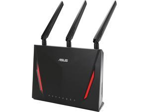 ASUS RT-AC86U AC2900 Dual Band Gigabit Wi-Fi Gaming Router with MU-MIMO, AiMesh for Mesh Wi-Fi System, AiProtection Network Security by Trend Micro, WTFast Game Accelerator and Adaptive QoS