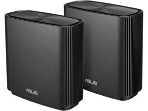 ASUS ZenWiFi AC (CT8 2PK) - AC3000 Tri-band Whole Home Mesh System, Coverage up to 5,400 sq. ft., Supports AiMesh, Free Lifetime Internet Security with Advanced Parental Control