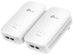 TP-LINK TL-PA9020 KIT AV2000 2-port Gigabit Powerline Starter Kit