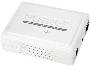 PLANET POE-161S IEEE 802.3at Gigabit Power Over Ethernet Plus Splitter with 5V / 12V DC Output (10/100/1000 Mbps)
