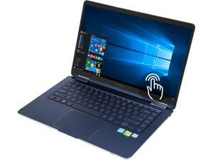 "SAMSUNG Notebook 9 Pen NP950SBE-X01US Intel Core i7 8th Gen 8565U (1.80 GHz) 16 GB Memory 512 GB SSD NVIDIA GeForce MX150 15.0"" Convertible 2-in-1 Laptop Windows 10 Home 64-bit"