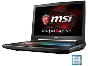 "MSI 17.3"" 4K/UHD GT73VR Titan Pro 4K-200 Intel Core i7 6820HK (2.70 GHz) NVIDIA GeForce GTX 1080 VR Ready 64 GB Memory 1 TB SSD(PCIE Gen3x4) 1 TB HDD Windows 10 Home 64-Bit G-Sync Gaming Laptop -- ONL"