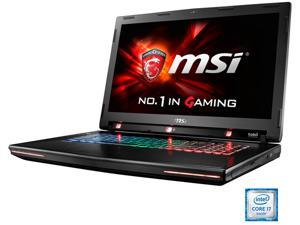 "MSI GT Series 17.3"" GT72VR Tobii-031 Intel Core i7 6700HQ (2.60 GHz) NVIDIA GeForce GTX 1070 32 GB Memory 512 GB SSD (PCIE Gen3x4)1 TB HDD Windows 10 Home 64-Bit G-Sync Gaming Laptop VR Ready"