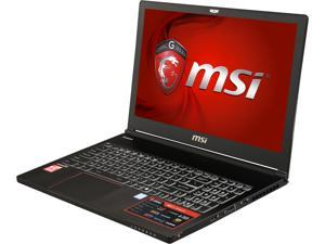 "MSI GS63 STEALTH-010 15.6"" IPS Intel Core i7 8th Gen 8750H (2.20 GHz) NVIDIA GeForce GTX 1060 16 GB Memory 256 GB SSD 1 TB HDD Windows 10 Home Gaming Laptop"