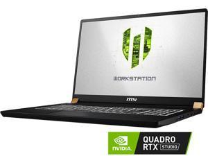 "MSI WS Series WS75 9TK-498 Mobile Workstation Intel Core i9 9th Gen 9880H (2.30 GHz) 32 GB Memory 1 TB NVMe SSD NVIDIA Quadro RTX 3000 17.3"" Windows 10 Pro 64-bit"