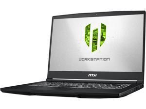 "MSI WP65 9TH-263 Mobile Workstation Intel Core i7 9th Gen 9750H (2.60 GHz) 16 GB Memory 512 GB NVMe SSD NVIDIA Quadro P620 15.6"" Windows 10 Pro 64-bit"