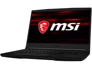 "MSI GF Series GF63 THIN 9SCX-005 15.6"" 60 Hz IPS Intel Core i5 9th Gen 9300H (2.40 GHz) NVIDIA GeForce GTX 1650 Max-Q 8 GB Memory 256 GB SSD Windows 10 Home 64-bit Gaming Laptop"