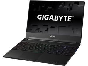 "GIGABYTE Aero 15X v8-BK4 15.6"" Thin Bezel 144 Hz GTX 1070 i7-8750H 16 GB Memory 512 GB SSD Windows 10 Home VR Ready Gaming Laptop"