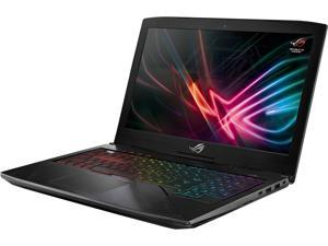 "ASUS ROG GL503GE-ES73 Strix Hero Edition 15.6"" Gaming Laptop, 8th-Gen 6-Core Intel Core i7-8750H (Up to 3.9 GHz), GeForce GTX 1050 Ti 4 GB, 120 Hz 3 ms Display, 16 GB DDR4, 128 GB SSD + 1 TB SSHD"