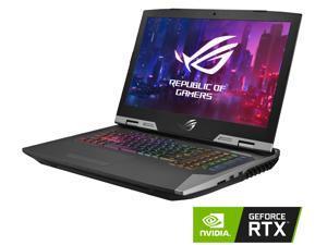 "ASUS ROG G703GX Gaming Laptop, GeForce RTX 2080, Intel Core i7-8750H, 17.3"" Full HD 144 Hz 3 ms G-SYNC, 16 GB DDR4, 512 GB PCIe SSD + 1 TB SSHD, Per-Key RGB, Windows 10 Pro, G703GX-XS71"