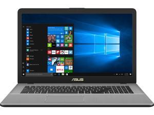 "ASUS VivoBook Pro 17 Thin and Portable Laptop, 17.3"" Full HD, Intel Core i7-8565U, NVIDIA GeForce GTX 1050, 16 GB RAM, 512 GB M.2 SSD, 802.11ac Wi-Fi, USB-C, Backlit KB, Windows 10 - N705FD-DS77"