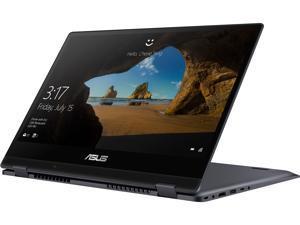 "ASUS VivoBook Flip 14 Thin and Lightweight 2-in-1 Touchscreen Laptop, 14"" Full HD, Intel Pentium Gold 4415U Processor, 4 GB RAM, 128 GB SSD, Fingerprint Reader, Windows 10 in S Mode - TP412UA-DB21T"