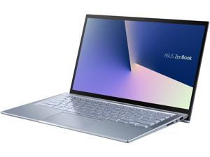 "ASUS ZenBook 14, Intel Core Whiskey Lake i7-8565U, 8 GB RAM, 512 GB NVMe PCIe SSD, Wi-Fi 5, Windows 10, Silver Blue, Ultra Thin and Light Laptop, 4-Way NanoEdge 14"" FHD UX431FA-ES74"