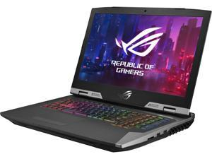 "ASUS ROG G703GX (2019) Gaming Laptop, 17.3"" FHD 144 Hz G-Sync, Overclocked GeForce RTX 2080, 9th Gen Intel Core i7-9750H, 32 GB RAM, 512 GB PCIe SSD + 1 TB SSHD, Windows 10 Pro, G703GX-XB76"