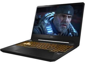 "ASUS TUF Gaming Laptop, 15.6"" 120 Hz Full HD IPS-Type, AMD Ryzen 7 R7-3750H, GeForce GTX 1660 Ti, 16 GB DDR4, 256 GB PCIe SSD + 1 TB HDD, Gigabit Wi-Fi 5, Windows 10 Home, TUF505DU-EB74"