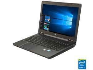 "Refurbished: HP Grade A Laptop ZBook 15 Intel Core i7 4th Gen 4600M (2.90 GHz) 16 GB Memory 256 GB SSD 15.6"" Windows 10 Pro ..."