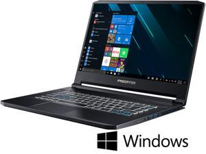 "Acer - Gaming Laptop - 15.6"" FHD IPS G-Sync 144 Hz, Intel Core i7-9750H (2.60 GHz), NVIDIA GeForce RTX 2080 Max-Q, 32 GB RAM, 1 TB SSD, Windows 10 Home 64-bit, Predator Triton 500 (PT515-51-73Z5)"
