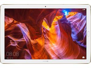 "Huawei MediaPad M5-10 Pro HiSilicon Kirin 960 4 GB Memory 64 GB Flash Storage 10.8"" 2560 x 1600 Tablet PC Android 8.0 (Oreo) Gold (Metal) with Stylus. Cameron-W19B 53010BJH"