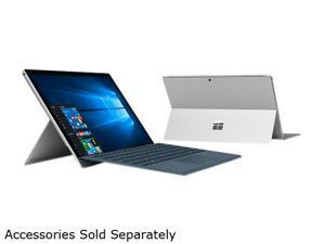 "Microsoft Surface Pro FJY-00001 Intel Core i5 7th Gen 7300U (2.60 GHz) 8 GB Memory 256 GB SSD Intel HD Graphics 620 12.3"" Touchscreen 2736 x 1824 Detachable 2-in-1 Laptop Windows 10 Pro 64-Bit"