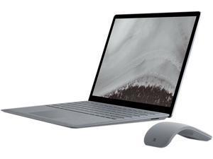 "Microsoft Laptop Surface Laptop 2 LQQ-00001 Intel Core i7 8th Gen 8650U (1.90 GHz) 8 GB Memory 256 GB SSD Intel UHD Graphics 620 13.5"" Touchscreen Windows 10 Home 64-Bit - Platinum"