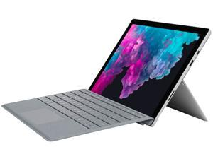 "Microsoft Surface Pro 6 (LJK-00001) with Keyboard Intel Core i5 8th Gen 8250U (1.60 GHz) 8 GB Memory 128 GB SSD 12.3"" Touchscreen 2736 x 1824 Detachable 2-in-1 Laptop Windows 10 Home 64-Bit"