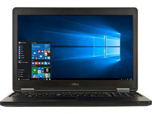 "DELL A Grade Laptop E5550 Intel Core i5 5th Gen 5200U (2.20 GHz) 8 GB Memory 256 GB SSD 15.6"" Windows 10 Pro 64-Bit"