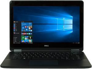 "DELL Laptop E7270 Intel Core i5 6300U (2.40 GHz) 8 GB Memory 256 SSD 12.5"" Windows 10"