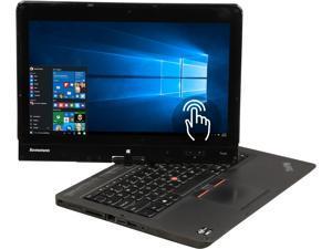 "Lenovo ThinkPad Twist S230u Intel Core i7 3rd Gen 3517U (1.90 GHz) 8 GB Memory 128 GB SSD 12.5"" Touchscreen Convertible Grade B 2-in-1 Laptop Windows 10 Pro 64-bit"