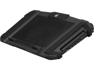 CM Storm SF-17 - Support de refroidissement pour ordinateur portable de jeu avec ventilateur de 180 mm et 4 réglages de hauteur ergonomiques