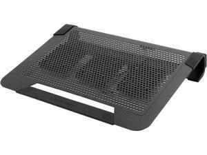 Cooler Master NotePal U3 PLUS - Tapis de refroidissement pour ordinateur portable de jeu avec 3 ventilateurs mobiles haute performance - Noir
