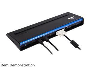 Targus Black ACP71USZ USB 3.0 SuperSpeed Dual Video Docking Station with Power