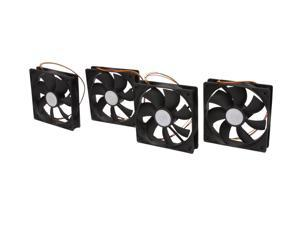 COOLER MASTER Silent Fan R4-S2S-124K-GP 120mm Silent Case Fan