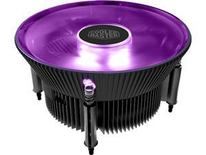 Cooler Master i71C RGB Intel only CPU Air Cooler Anodized Black Aluminum fins 120mm RGB Master Fan