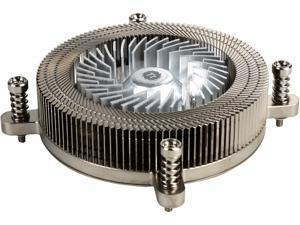 Thermaltake Engine 27 1U Low-Profile 70W Intel 60mm Low Noise PWM Fan Forty Fan Blade CPU Cooler CL-P032-CA06SL-A