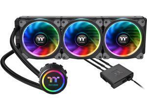 Thermaltake Floe AIO Triple Riing RGB 360 TT Premium Edition PWM TR4 LGA2066 Ready Liquid Cooling System CL-W158-PL12SW-A