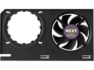 NZXT KRAKEN G12 - GPU Mounting Kit for Kraken X Series AIO - Enhanced GPU Cooling - AMD and NVIDIA GPU Compatibility - Active Cooling for VRM - Black (RL-KRG12-B1)