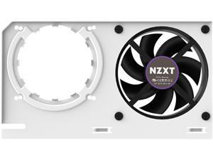 NZXT KRAKEN G12 - GPU Mounting Kit for Kraken X Series AIO - Enhanced GPU Cooling - AMD and NVIDIA GPU Compatibility - Active Cooling for VRM - White (RL-KRG12-W1)