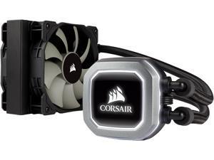 CORSAIR Hydro Series H75 2018 CW-9060035-WW, 120mm Radiator, 2 SP120 PWM Fans, High Performance Liquid CPU Cooler