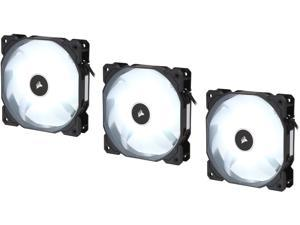 Corsair AF Series AF120 LED (2018) CO-9050082-WW 120mm White LED Case Fan, 3-Pack.