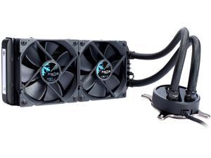Fractal Design Celsius S24 Blackout 240mm Silent High Performance Slim Expandable All-In-One CPU Liquid / Water Cooler