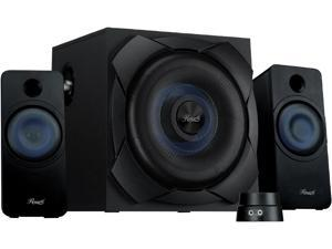 Rosewill Bluetooth 2.1 Speaker System with Subwoofer and Control Pod, 50 Watts RMS for Music, Movies, Computer, Gaming Systems - BZ-200