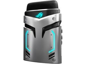 ASUS ROG Strix Magnus USB 3.0 Portable Gaming Condenser Microphone with Cardioid / Stereo / ENC and Aura Sync