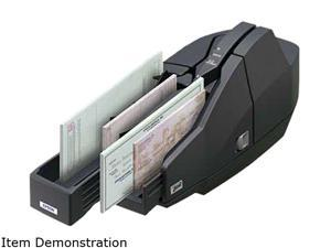 Epson TM-S1000 Desktop Check Scanner, Single Feed, Single Pocket CD, Without Ranger, Dark Gray - A41A266511