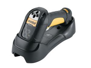Motorola LS3578-FZBU0100UR Barcode Scanner (Yellow) – USB Kit with Cradle