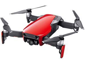 DJI MAVIC AIR Single Unit (NA) Portable Collapsible Quadcopter Drone, 3-Axis Gimbal with 4K, 32 MP Camera - Flame Red
