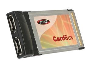BYTECC BT-C150E PCMCIA e-SATA 2 Port CardBus
